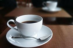 ファミリーレストランのコーヒー