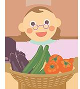 農家のイラスト